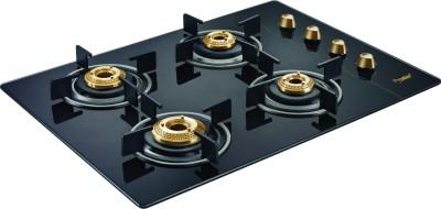 Prestige EURO Glass Manual Gas Stove(4 Burners)