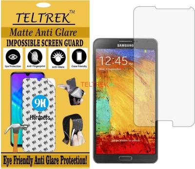 TELTREK Tempered Glass Guard for SAMSUNG GALAXY NOTE 3 N9000 (Matte Flexible Shatterproof)(Pack of 1)