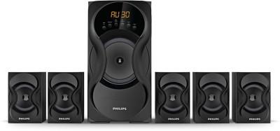 PHILIPS SPA5162/94 60 W Bluetooth Home Theatre(Black, 5.1 Channel)