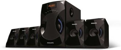 PHILIPS SPA4040B/94 45 W Bluetooth Home Theatre(Black, 5.1 Channel)