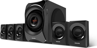 PHILIPS SPA8000B/94 120 W Bluetooth Home Theatre(Black, 5.1 Channel)