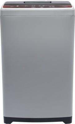 Haier 6.5 kg 5 star Ariel Wash Fully Automatic Top Load Brown, Grey(HWM65-FE)