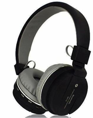 F FERONS BEST BUY Wireless Earphones Game Sport Running Headphone Bluetooth Headset(TRUE BLACK, On the Ear)