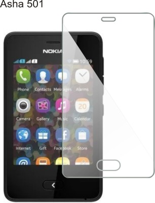 Fomieja Impossible Screen Guard for Nokia Asha 501(Pack of 1)