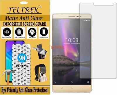 TELTREK Tempered Glass Guard for LENOVO PB2-650M (PHAB2) (Matte Flexible Shatterproof)(Pack of 1)