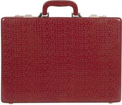 sallow Business Travel, Executive Medium Briefcase - For Men & Women(Maroon)