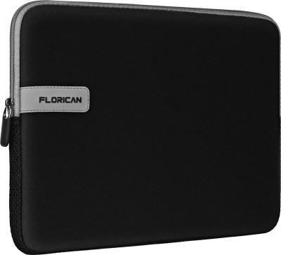 FLORICAN Laptop Sleeve Case for 14 Inch Laptops Laptop Sleeve/Cover(Black, 14 inch)