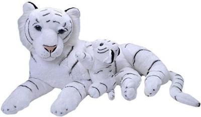WILD REPUBLIC JUMBO MOM AND WHITE TIGER CUB   38 cm White WILD REPUBLIC Soft Toys
