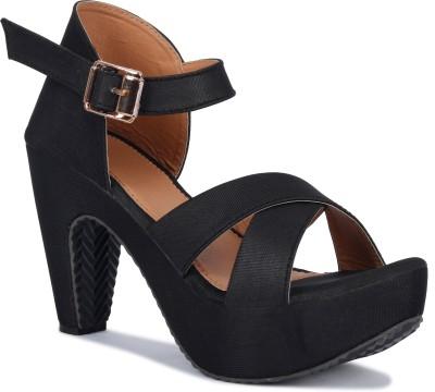 LEVANTINA FASHION Women Black Heels