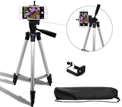 Syvo 3110 Portable Digital Camera Mobile Stand Tripod, Tripod Kit, Monopod(Silver, Supports Up to 1500 g) 1