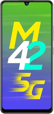 SAMSUNG Galaxy M42 5G (Prism Dot Gray, 128 GB)(6 GB RAM)