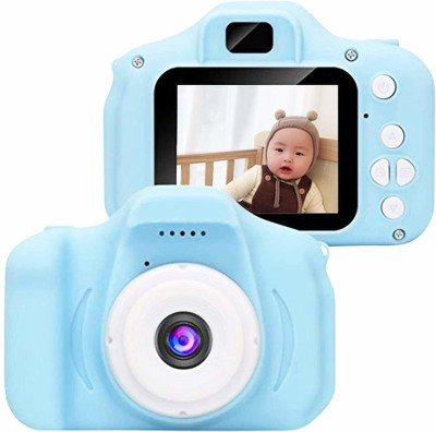 Kiti Kits Digital Camera With 2 inch Display Screen Toy For Kids Best Birthday Gift for Children, 3-12 Years Old BLUE