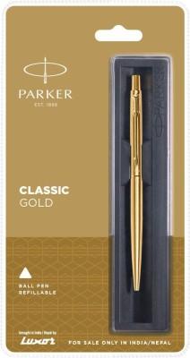 PARKER Classic Gold Ball Pen(Blue)
