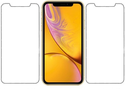 KARTRAY Tempered Glass Guard for Apple iPhone 11, Apple iPhone XR(Pack of 2)