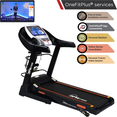 RPM Fitness RPM3000 3.5 HP Peak, Multi Function Motorized with Free Installation Treadmill