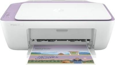 HP DeskJet 2331 Multi function Color Printer White, Purple, Ink Cartridge HP Multi Function Printers