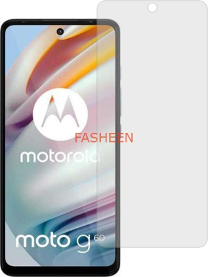 Fasheen Tempered Glass Guard for MOTOROLA MOTO G60 (Flexible Shatterproof)(Pack of 1)