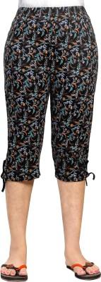 0-Degree women capri pants women three fourth pants Women Black Capri