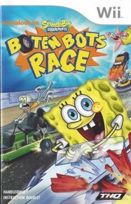 Spongebob squarepants boten bots race  Standard  Disc, for Nintendo WIi Games