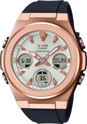 CASIO MSG-S600G-1ADR Baby-G Analog-Digital Watch - For Women