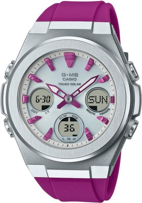 CASIO MSG-S600-4ADR Baby-G Analog-Digital Watch - For Women
