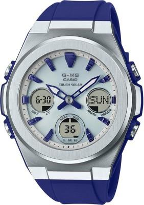 CASIO MSG-S600-2ADR Baby-G Analog-Digital Watch - For Women