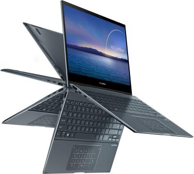 ASUS ZenBook Flip 13 Core i7 11th Gen - (16 GB + 32 GB Optane/512 GB SSD/Windows 10 Home) UX363EA-HP701TS...