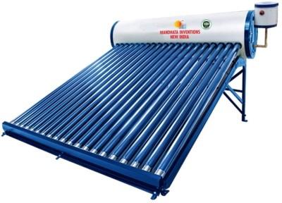 MANDHATA INVENTIONS 150 L Storage Water Geyser (150 LPD GI ETC, Blue)