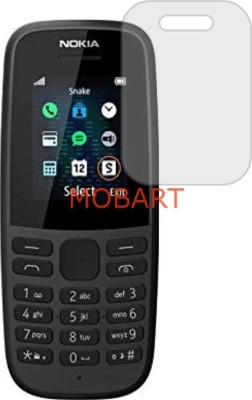 MOBART Tempered Glass Guard for NOKIA 105 SINGLE SIM (Flexible Shatterproof)(Pack of 1)