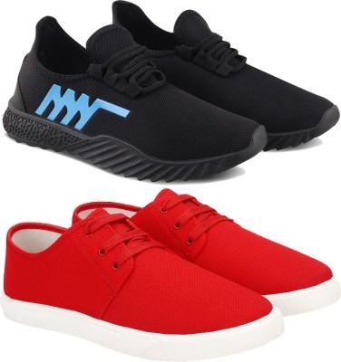 BERSACHE Running Shoes For Men Multicolor