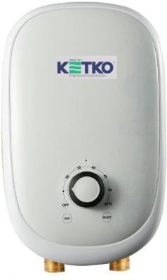 Ketko 1 L Instant Water Geyser (FLOSTATIC-T-CWTF-9KW, White)