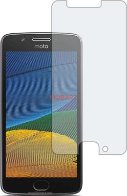 MOBART Tempered Glass Guard for MOTOROLA MOTO G5(Pack of 1)