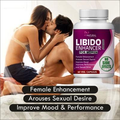 Natural Libido Enhancer For Women Herbal Capsules For 100% Ayurvedic Safe Ingredients Rapid Results (60 Capsules)(60 Capsules)