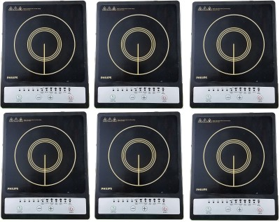 PHILIPS HD4920/00 pack of 6 Induction Cooktop(Multicolor, Push Button)