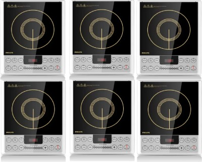 PHILIPS HD4929 pack of 6 Induction Cooktop(Multicolor, Push Button)