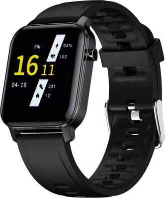 PA Maxima Max Pro X2 Smartwatch(Black Strap, Regular)