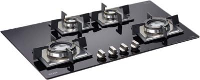 GLEN BH1074SQDB Glass Automatic Hob(4 Burners)