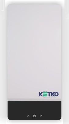 Ketko 1 L Instant Water Geyser (FLOSTATIC-T-CWMF 13KW, White)