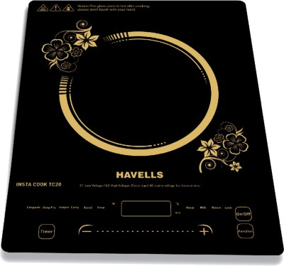 HAVELLS TC20 Induction Cooktop(Black, Touch Panel)