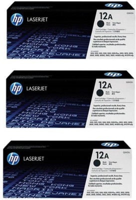 MHP Cartridges 12A Black Ink Toner MHP Cartridges Toners