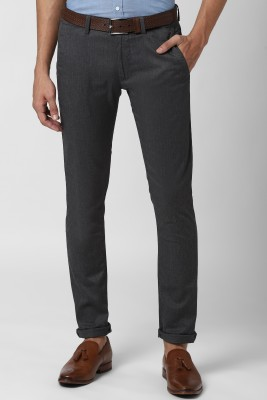 PETER ENGLAND Skinny Fit Men Grey Trousers