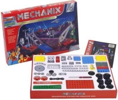 PEZYOX MECHANIX Metal No 4  Multicolor  263 ps Multicolor PEZYOX Blocks   Building Sets