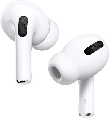 APPLE Airpods Pro With Wireless Charging Case Active noise cancellation enabled Bluetooth Headset(White, True Wireless)