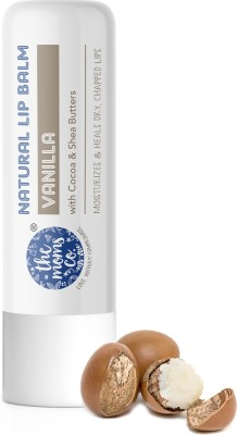 The Moms Co. Natural Lip Balm Vanilla I Non Sticky I Protects & Nourishes Dry Chapped Lips I Vanilla(Pack of: 1, 5 g)