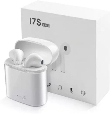 Appito i7 Earbuds wireless headset with charging case Bluetooth Headset(White, True Wireless)