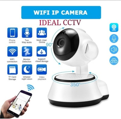 IBS IP CAM Mini Robot Wireless WIFI Network Security HD Remote Monitor 720P CCTV 360 DEGREE ROTATION TWO WAY AUDIO MOTION DETECTION ALARM NIGHT VISION Security Camera(1 Channel)