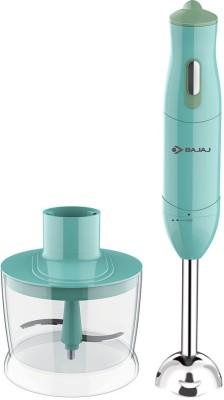 BAJAJ 410536 300 W Hand Blender with Bowl(Blue)