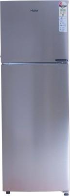 Haier 258 L Frost Free Double Door 2 Star Refrigerator(Inox Steel, HRF-2783CIS-E)