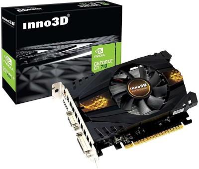 Inno3D NVIDIA Geforce GT 710 2GB DDR3 2 GB DDR3 Graphics Card