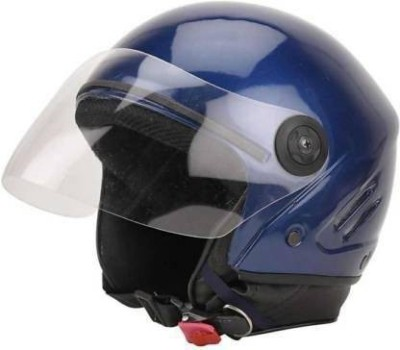 Tiwari bkue track Motorsports Helmet(Blue)